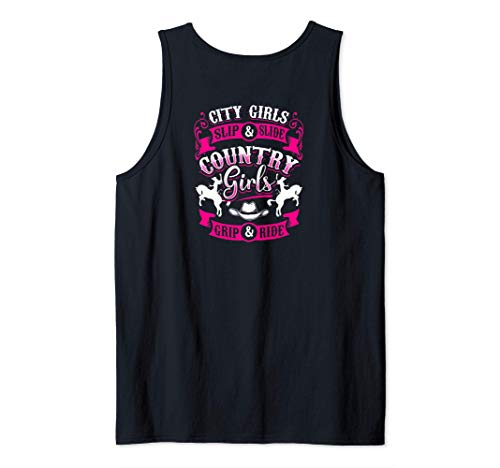 City Girls Slip & Slide Country Girls Grip & Ride Rodeo Camiseta sin Mangas