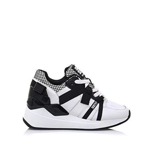 SIXTY SEVEN Chaussures de Sport pour Femme 30210 C47763 ACTLED Blanco Taille 38 EU
