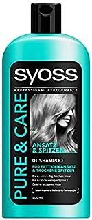 Syoss Shampoo Pure & Care, 500ml