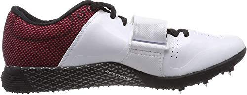adidas Adizero Tj/Pv, Zapatillas de Atletismo Unisex Adulto, Blanco (FTWR White/Core Black/Shock Red FTWR White/Core Black/Shock Red), 49 EU