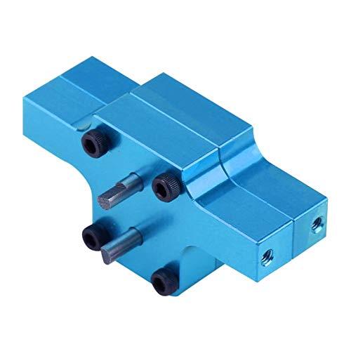 Nueva apariencia y exquisita mano de obra Caja de cambios de transmisión de coche RC, para coche teledirigido,(WPL1637B blue)