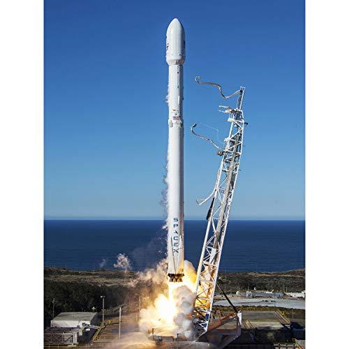 Space SpaceX Falcon 9 Rocket Launch Lift Off Photo Extra Large XL Wall Art Poster Print Platz Platz Rakete Fotografieren Wand Poster drucken