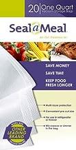 Sunbeam Products Fssmbf0216-000P Qt. Vacuum Sealer Bag, 20-Pk. Food Sealer & Accessories