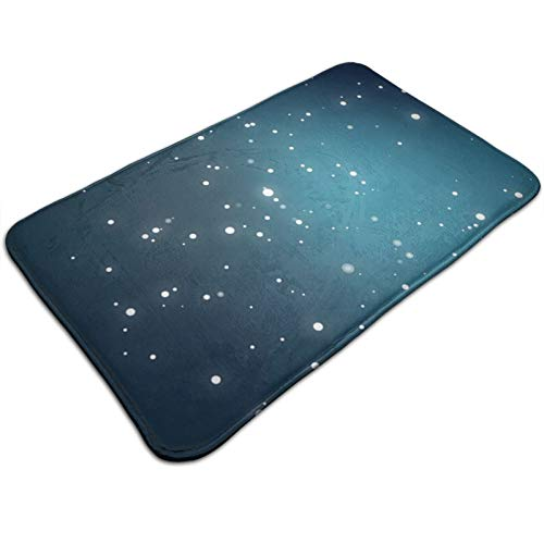 Arehji Sky-Full-Of-Stars - Felpudo antideslizante para entrada de suciedad y exterior