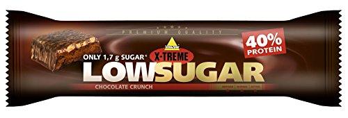 X-TREME Low Sugar Riegel , Chocolate Crunch, Display 24 x 65 g