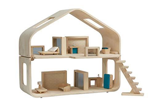プラントイ(PLANTOYS) コンテンポラリードールハウス(家具付き) 7122