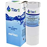 Tier1 Refrigerator Water Filter Replacement for GE XWF, WR17X30702, GBE21, GDE21, GDE25, GFE24, GFE26, GNE21 - with Activated Carbon Media to Reduce Chlorine while Improving Water Taste