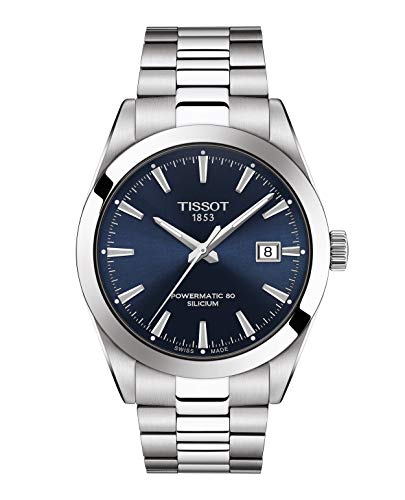 Tissot Men's Gentleman Swiss Automatic Stainless Steel Dress Watch