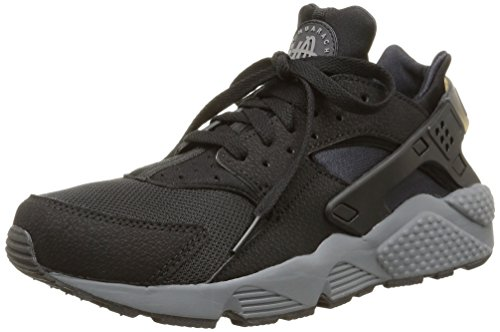 Nike Men's Air Huarache Sneakers, Noir (Black/Dark Grey 010), 7.5 UK