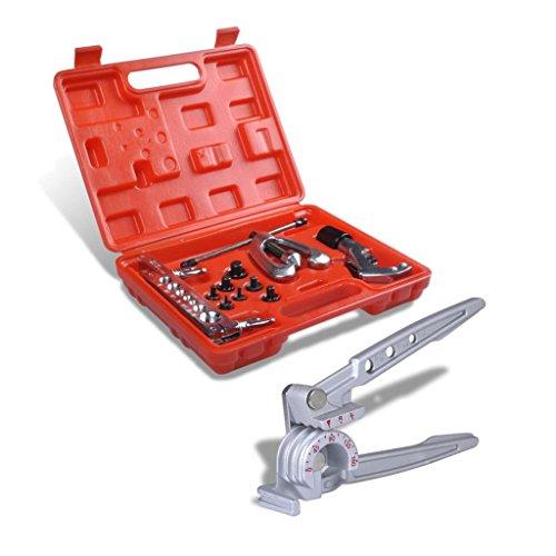 Luckyfu Kit Instruments de Conique avec Cintreuse réparation de tubi. Accessoires pour véhicules boîte à Outils du véhicule réparation du véhicule