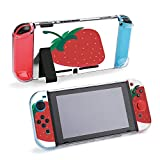 SUPNON Beautiful Red Strawberry Cream in Chocolate Protective Case Compatible with Nintendo Switch...