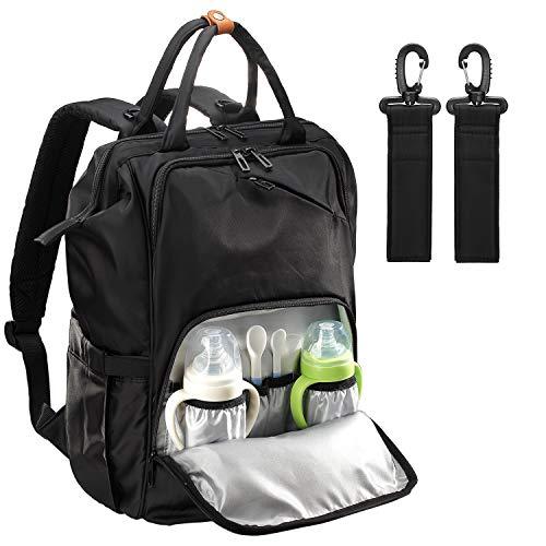 Sevego-Wickelrucksack, Vielseitige Babytasche, Wasserfester Wickelrucksack, Kinderwagen-Tasche mit Wickelauflage, Stilvolle Umhängetasche für Mama Und Papa