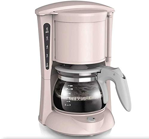KaiKai Kaffeemaschine, Compact Kaffeemaschine, Edelstahl Filter-Kaffeemaschine mit Minute Brühzeit, 600ml Programmierbare Kaffeemaschine mit Anti-Tropf-Funktion, 600w, for Espressokocher