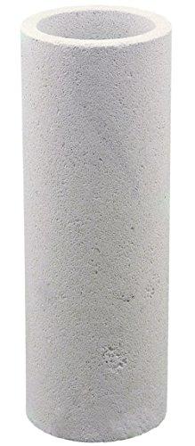 Vase aus Sandstein inkl. Glaseinsatz