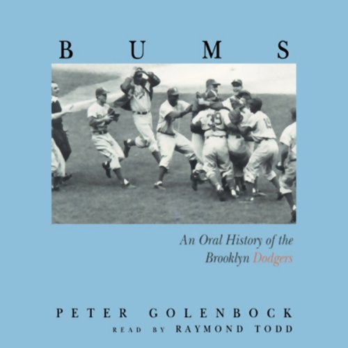 Bums audiobook cover art