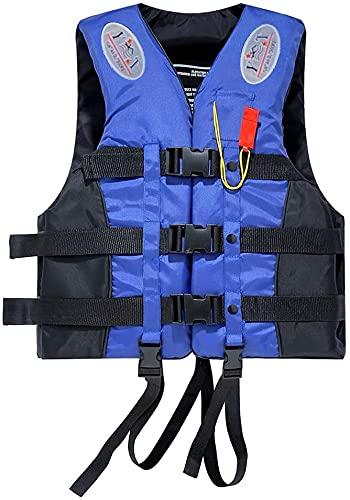 Chaleco Salvavidas Adulto, Chaleco de flotabilidad 50-N, para Snorkel, Kayak, canotaje,...