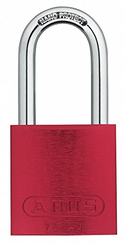 Buy Bargain Lockout Padlock, KA, Red, 1-1/2H, PK6