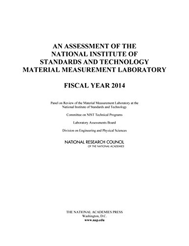 An Assessment of the National Institute of Standards and Technology Material Measurement Laboratory: Fiscal Year 2014