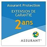 2 ans extension de garantie pour un équipement de bureau de 20 EUR à 29,99 EUR