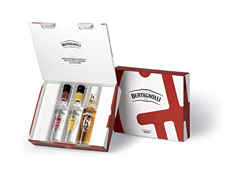 Distilleria Bertagnolli Cofanetto 3 Grappe Teroldego, Moscato - 200 ml