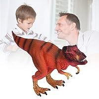 恐竜モデルのおもちゃ、シミュレーション恐竜モデル子供のための子供のためのデスクトップ装飾のための高度なシミュレーション(Tyrannosaurus Red Rex)
