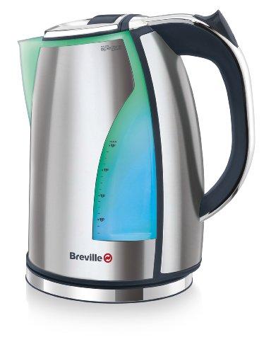 Breville VKJ787X Spectra Wasserkocher Beleuchtung 2200 Watt 1,7 Liter Edelstahl