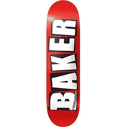 Baker Skateboard Brand Logo White 7.3