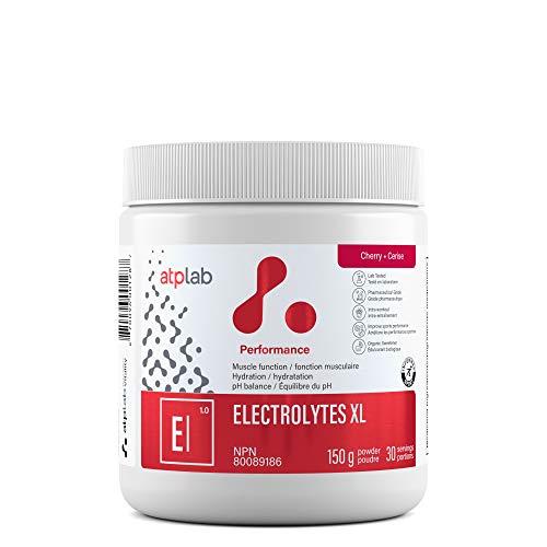 ATP LAB | Electrolytes XL 150 g | Produit de performance qui contribue à la fonction musculaire, à l'hydratation et à l'équilibre du pH.