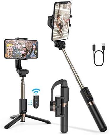 Selfie Stick Tripod BlitzWolf Mini Extendable Selfie Stick Bluetooth with Anti Shaking Stabilizer product image