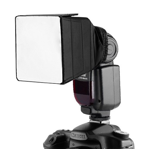 Neewer Pro (Pro Version of Neewer Product) Pop-Up Universal Flash Diffuser for On Camera or Off Camera Flash Gun, for Canon 430EX II, 580EX II, 600EX-RT, Nikon SB600 SB800 SB900, Neewer TT560, TT680, TT850, TT860, Youngnuo YN560, YN565, YN568, Vivita Flash, Sunpack, Sunpak, Nissin, Sigma, Sony, Pentax, Olympus, Panasonic Lumix Flashes with a Carrying Case