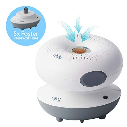 Save %23 Now! Good Worth Mini Renewable Cordless Dehumidifier, 1 Drying Base + 1 Donut Dehumidifer +...