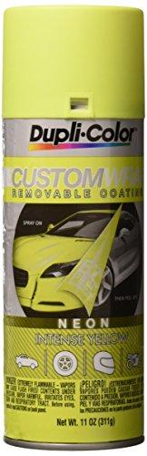 Dupli-Color ECWRC8610 Custom Wrap, Neon, Intense Yellow, 11 Ounce Aerosol