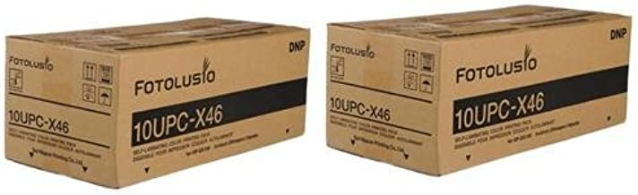 """DNP 10UPC-X34 3.5/""""x4/"""" Color Ribbon /& Ink Self Laminating Print Pack for Sony"""