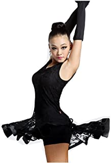 Motony Latin Dance Dress New Style Sleeveless Dance Practice Costume Adult Performance Clothes Square Dance Wear