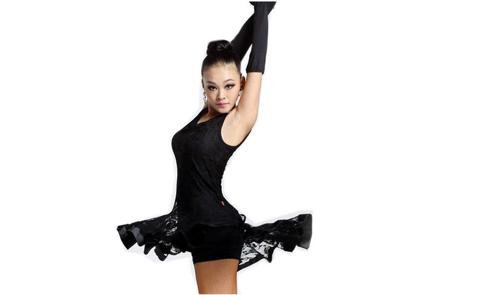 Latin Dance Dress Sleeveless Dance Practice Costume Performance Dance Wear