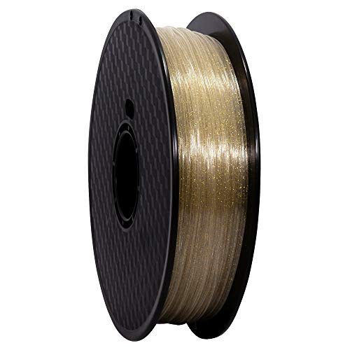 Wanhao Filament: Premium Transparent PET Constellation 1 kg/1.75 mm – Filament for 3D Printer