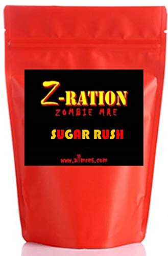 """The """"Sugar Rush"""" Z-Ration (Zombie MRE) ALL SWEETS!"""