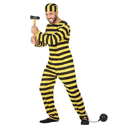 Atosa - 97336 - Costume - Déguisement De Prisonnier Jaune - Taille 2