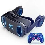 UGP U8 Occhiali VR Cuffia 3D Versione IMAX Casco Realtà virtuale Giochi Film 3D con Cuffia 3D VR...