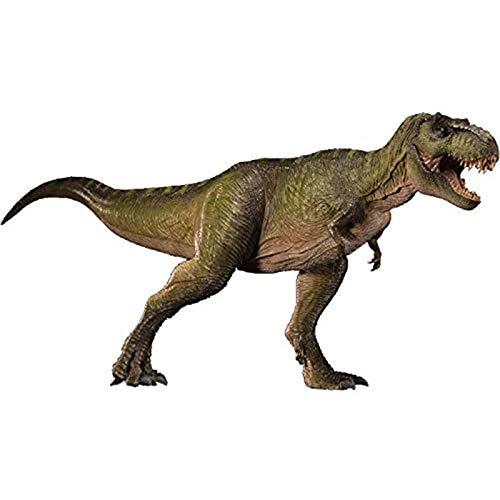1:35 Tyrannosaurus Alpha Dinosaurio prehistórico colección de Juguetes de Animales muñeca móvil de mandíbula