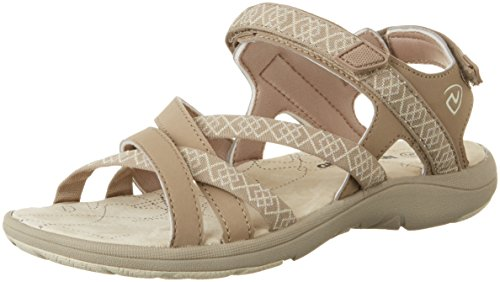 Northland Damen Mia Leather Sport- & Outdoor Sandalen, Mehrfarbig (Camel/Sand), 40 EU