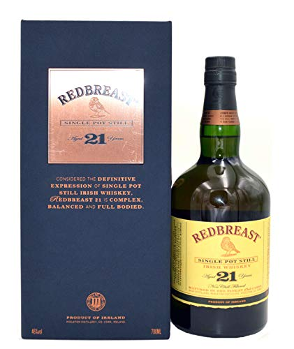 Redbreast 21 Jahre Single Pot Still 0,7l inkl. Geschenkkarton - Irish Whiskey