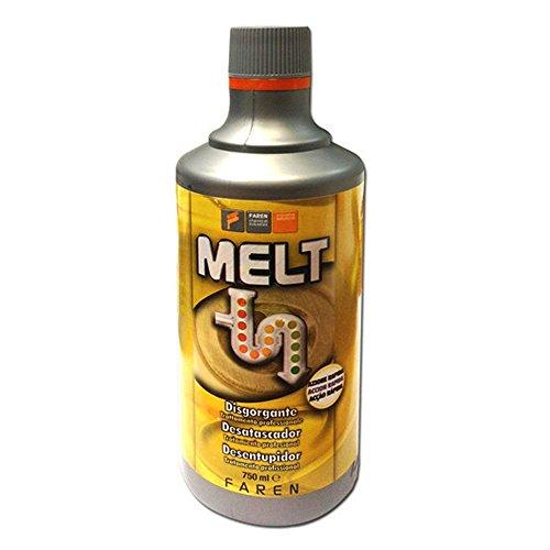 Melt - Desatascador de tuberías profesional - Desatascador líquido profesional de efecto...