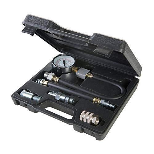 Silverline 598559 Probador de compresión para motores de gasolina, 5 piezas incluidas