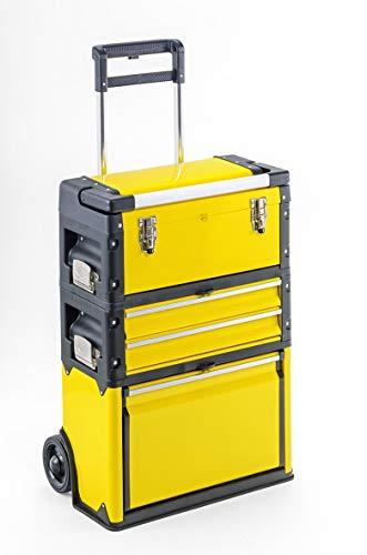 Werkzeugtrolley, 3-fach 1k.2.1 Comfort gelb