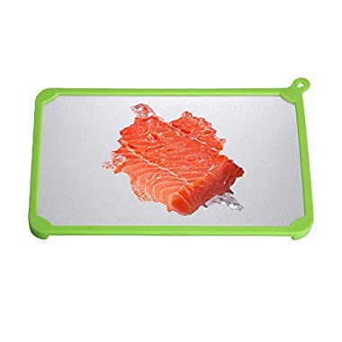 Debolic Kitchen Fast Defrosting Tray,Thaw Frozen Food in Minutes,The magical defrosting Way to Defrost Meat or Frozen Food Quickly Without Electricity,Microwave,Keep Food Fresh/Remain Original Taste