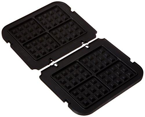 Cuisinart GR-WAFP Griddler Waffle Plates, Black