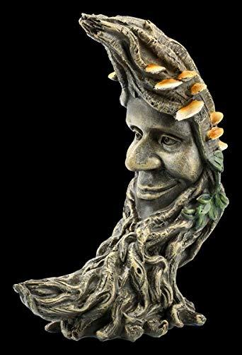 Figuren Shop GmbH Waldgeist Fantasy-Figur - Luna Oak | Dekofigur, Deko-Artikel, Skulptur, Statue, H 17,5 cm
