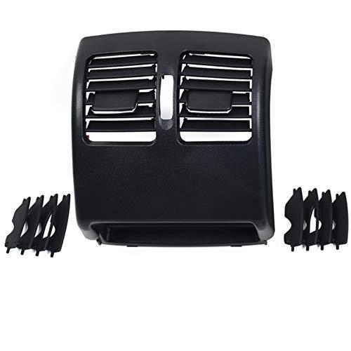 AIOFOGXC Rücksitz Klimaanlage AC Vent Grille Panel/FIT for MERCEDESBENZ W204 C180 C200 220 230 260 300 350 2007-2010 W207 E 2010-2012 (Color Name : Black)