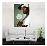 NVRENHUA Musik Rap Hip Hop Star 50 Cent Wandbild